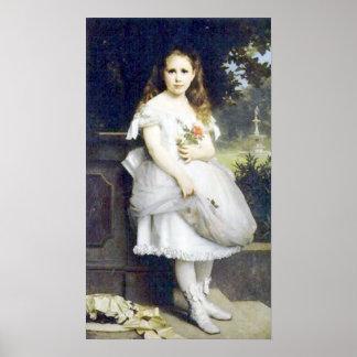 Bouguereau - Portrait d'Anna Head Posters