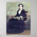 Bouguereau - Portrait de Genevieve Bouguereau Posters