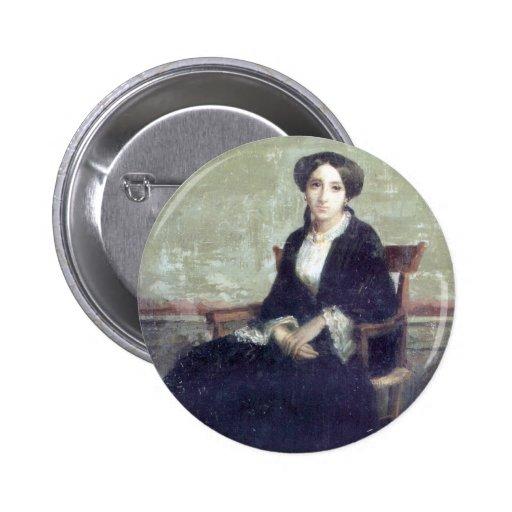 Bouguereau - Portrait de Genevieve Bouguereau Pin