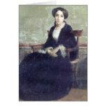 Bouguereau - Portrait de Genevieve Bouguereau Tarjeta