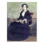 Bouguereau - Portrait de Genevieve Bouguereau Postal