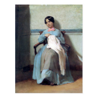 Bouguereau - Portrait de Léonie Bouguereau Postcards
