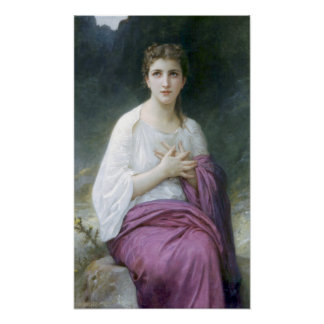 Bouguereau - psique impresiones