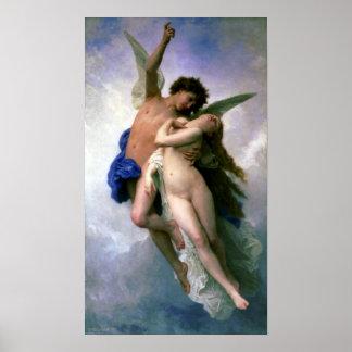 Bouguereau - Psyche et L'Amour Print