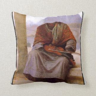 Bouguereau s The Invisible Bohemian Throw Pillow