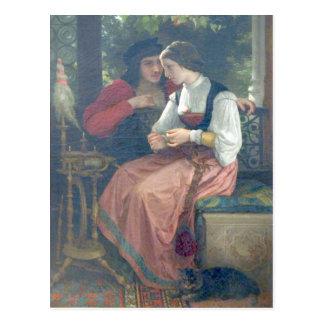 Bouguereau - seducción postal
