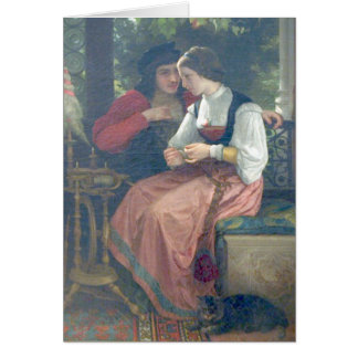 Bouguereau - Seduction Card