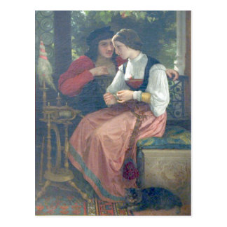 Bouguereau - Seduction Postcard