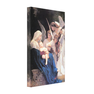 Bouguereau - Song of the Angels lg Canvas Print