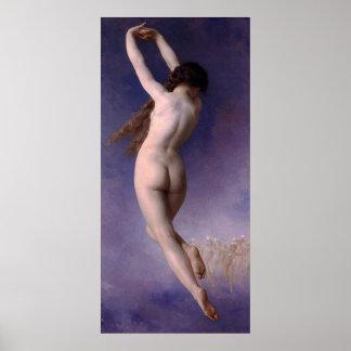 Bouguereau: The Lost Pleiad (L'Etoile Perdue) 1884 Print