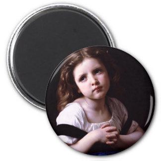 Bouguereau The Prayer Magnet