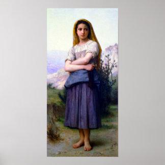 Bouguereau - Tricoteuse Impresiones