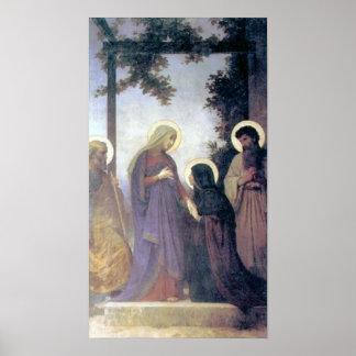 Bouguereau - Visitation del La Póster