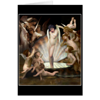 Bouguereau's Angels Surround Cupid Cards