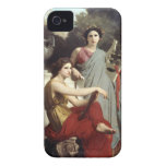 "Bouguereau's ""Art and Literature"" Case-Mate Case Case-Mate iPhone 4 Cases"
