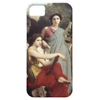 "Bouguereau's ""Art and Literature"" Case-Mate Case"