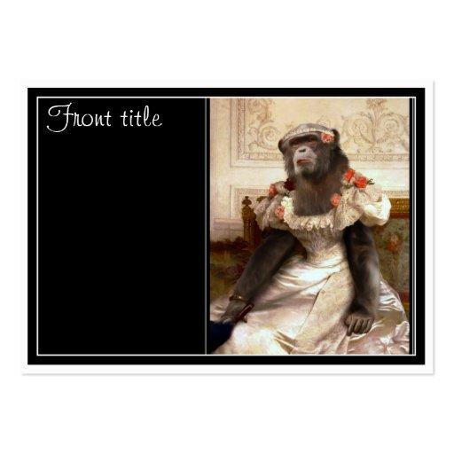Bouguereau's Chimp Business Card Templates