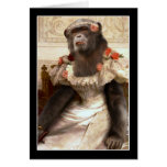 Bouguereau's Chimp Greeting Cards