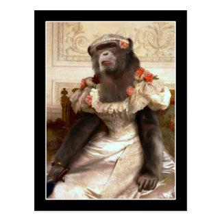 Bouguereau's Chimp Post Card