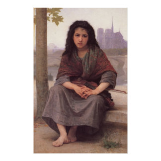 Bouguereau's Classic Painting: The Bohemian (1890) Posters