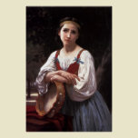 Gypsy Girl with a Basque Drum