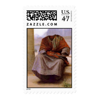 Bouguereau's The Invisible  Bohemian Postage