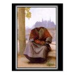 Bouguereau's The Invisible  Bohemian Postcard