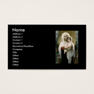 Bouguereau's The Madonna of the Roses (1903) Business Card