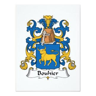 Bouhier Family Crest Invites
