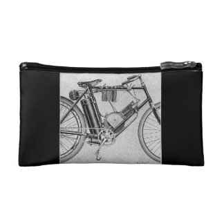 Bouilly Motorcycle, 1895 Cosmetic Bag