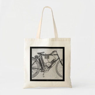 Bouilly Motorcycle, 1895 Tote Bag