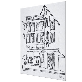 Boulangerie Patisserie, Avignon Canvas Print