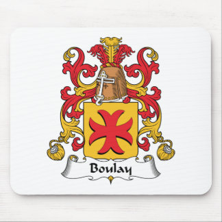Boulay Family Crest Mouse Mat