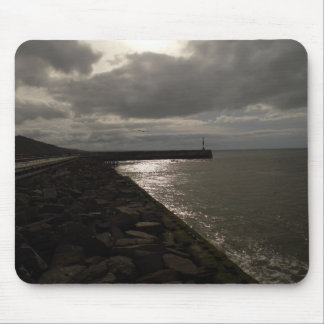boulder and pier pic mouse pad