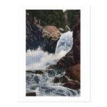 Boulder cae en el barranco de Boulder, opinión de Tarjetas Postales