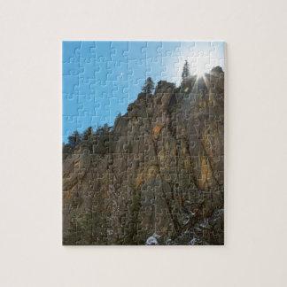 Boulder Canyon Narrows Pinnacle Jigsaw Puzzle