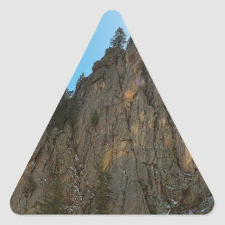 Boulder Canyon Narrows Pinnacle Triangle Sticker