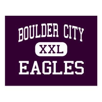 Boulder City - Eagles - High - Boulder City Nevada Postcard