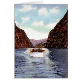 Boulder City Nevada Boating on Lake Mead Card