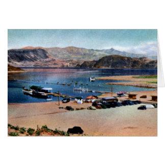 Boulder City Nevada Lake Mead Boat Landing Card