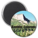 Boulder, Colorado 2 Inch Round Magnet