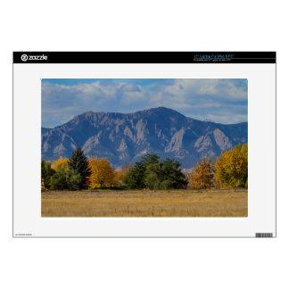 Boulder Colorado Autumn Flatiron Afternoon Laptop Decals