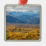 Boulder Colorado Autumn Scenic View Christmas Ornaments