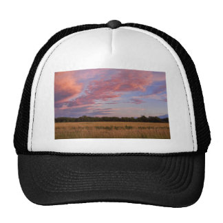 Boulder Colorado Country  Sunset Trucker Hat