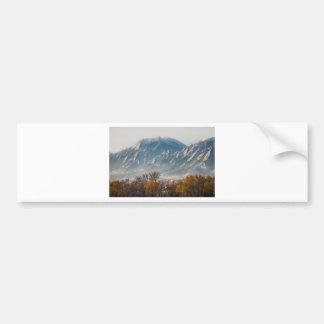 Boulder Colorado Flatirons Country Fall View Car Bumper Sticker
