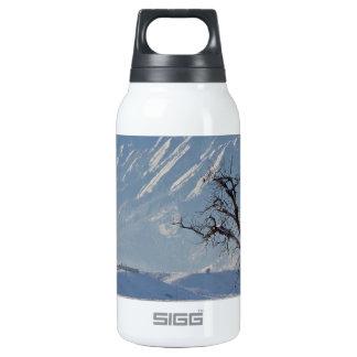 Boulder Colorado Snowy Front Range View.jpg Thermos Bottle