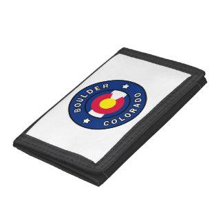 Boulder Colorado Trifold Wallet
