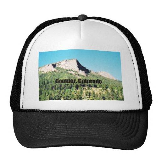 Boulder, Colorado Trucker Hats