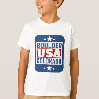 Boulder Colorado USA T-Shirt