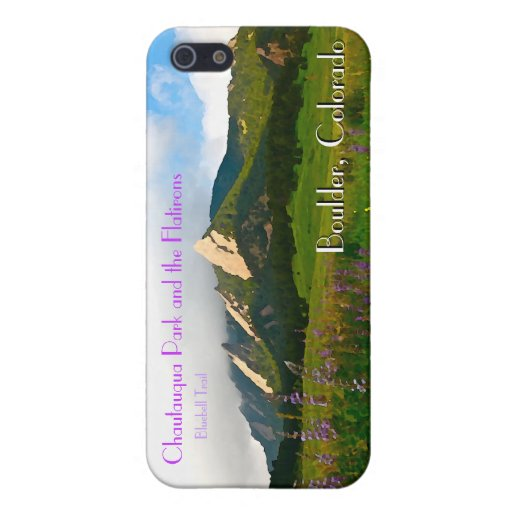 Boulder, Colorado Vintage Style Cover For iPhone 5/5S